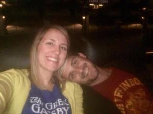 Enjoying an evening at Alamo Drafthouse in Springfield, Missouri